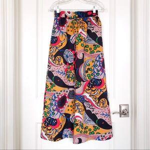 Vintage Mod maxi skirt
